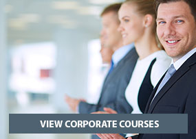 Corporate courses banner